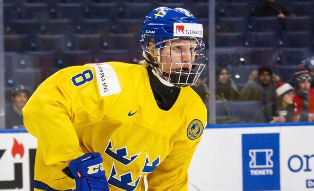 Rasmus Dahlin ja kumppanit pukeutuu H&M:n vaatteisiin talviolympialaisissa.