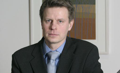 Taloushistorian professori Juha-Antti Lamberg.
