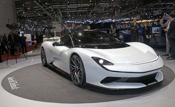 Onko  muodossa jotakin Ferrarista? Se ei olisi ihme - Pininfarina oli pitkään Ferrarin hovimuotoilija