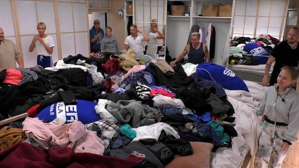 Big Brother -talon asukkailla alkaa nyt pyykkirumba.
