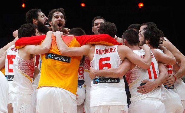 Espanja juhlii tänä vuonna koripallon Euroopan mestaruutta.
