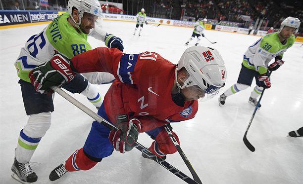 Slovenia ei kyennyt vastaamaan Norjan tulivoimaan.