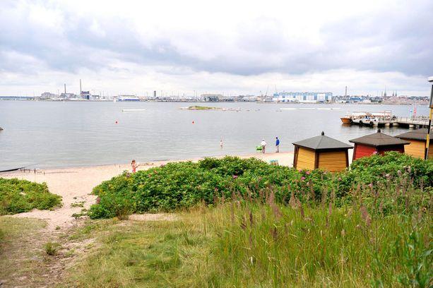 Pihlajasaaresta voi ihailla Helsinkiä uudesta näkökulmasta.