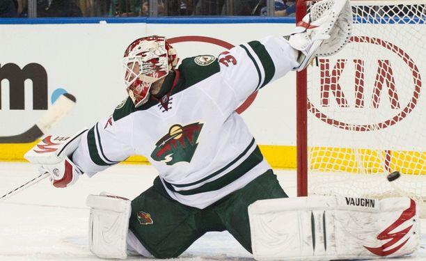 Niklas Bäckström on maistanut tappiota kahdeksassa edellisessä NHL-startissaan.