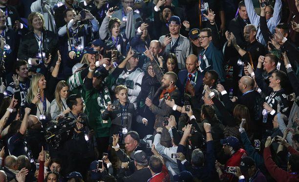 Super Bowl on maailman suorin jokavuotinen urheilutapahtuma.