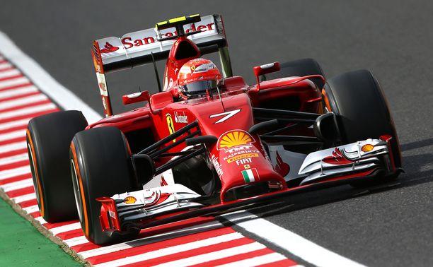 Kimi Räikkönen jäi kymmenenneksi.