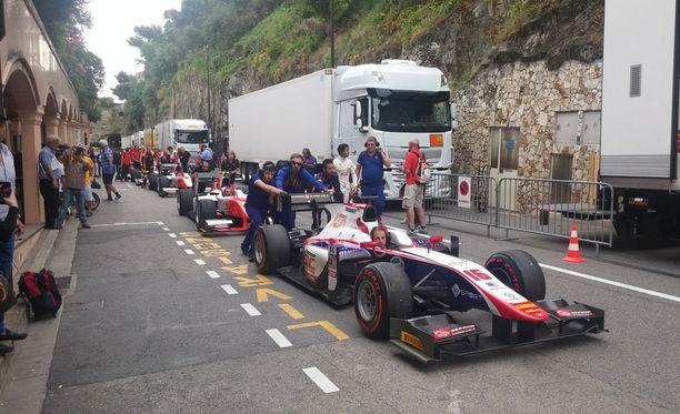 Lauantaina Monacossa ajetaan formula kakkosten osakilpailu.