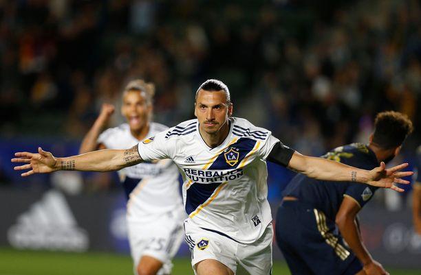 Zlatan Ibrahimovic edustaa LA Galaxya.