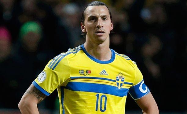 Zlatan Ibrahimovicia ei nähdä ensi kesän Brasilian MM-kisoissa.