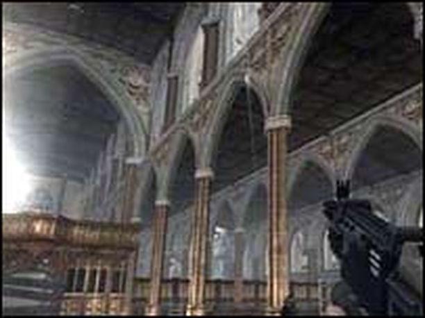 Kohuttu kirkkokohtaus suututti Englannin kirkonmiehet.