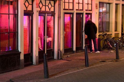 De Wallenin kaupunginosassa Amsterdamissa toimii useita bordelleja.