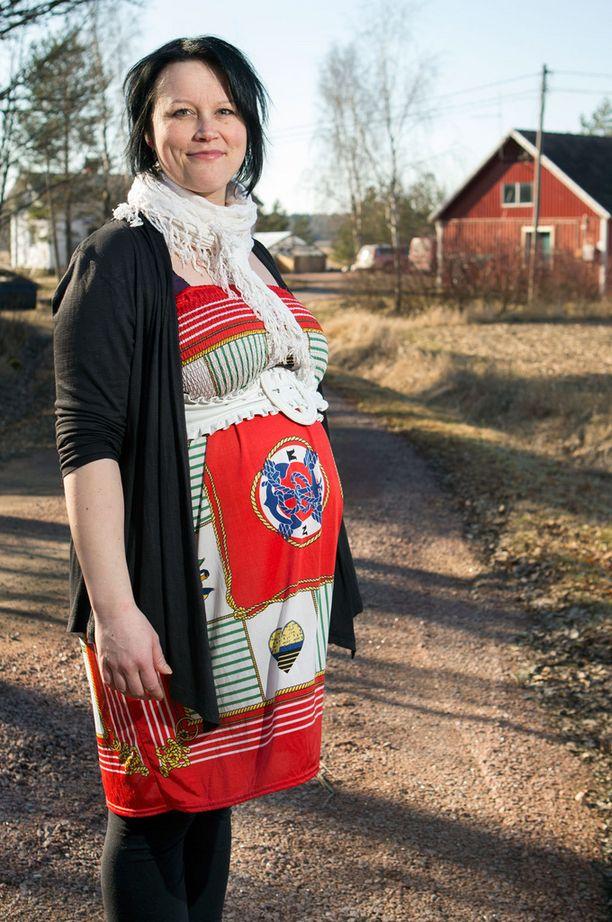 - Olen voinut hyvin koko raskauden ajan, paitsi alussa oli pientä pahoinvointia, Vilja kertoo.