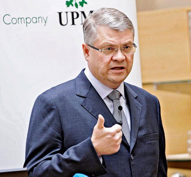Jussi Pesonen ansaitsi 3,35 miljoonaa euroa vuonna 2011.