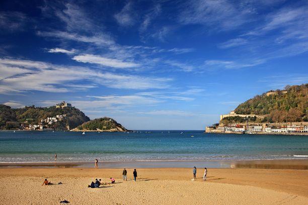 Sebastianissa voi viettää kaupunkilomaa, ja nautti Euroopan parhaana pidetystä rannasta.