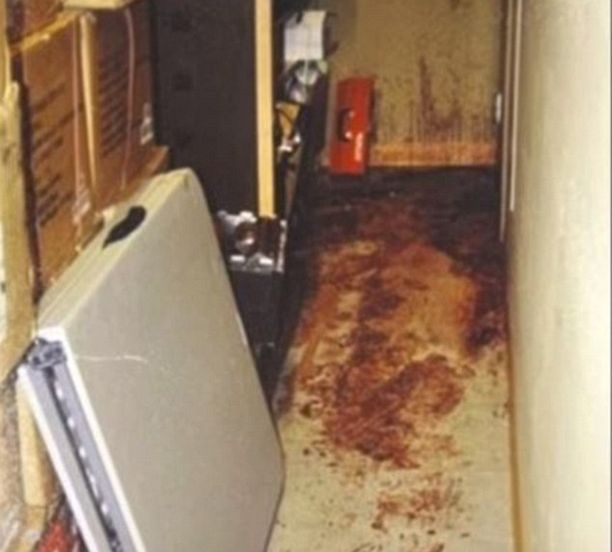 Poliisia kohtasi karmea näky asunnolla.