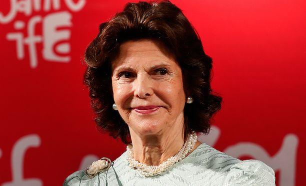 Silvia vastaanotti palkinnon Saksassa.