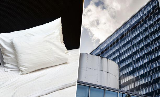 Husin sairaanhoitajille tarjotaan ilmaisia hotelliöitä.