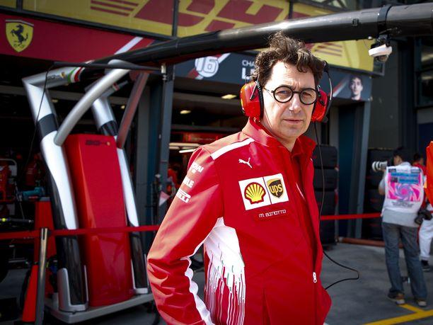 Mattia Binotton aika Ferrarin tallipäällikkönä ei alkanut järin ruusuisesti.