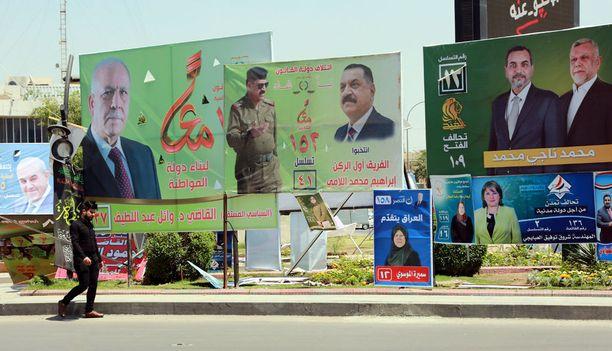 Irakissa on parlamenttivaalit lauantaina. Maa varautuu vaalipäivään sulkemalla rajat ja ilmatilan.