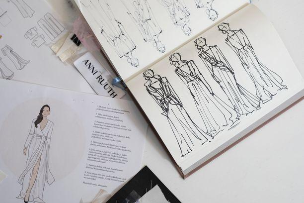 Anni Ruuth halusi suunnitella ajattoman puvun modernille naiselle.