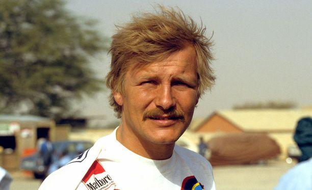 Juha Kankkunen on rallin nelinkertainen maailmanmestari.