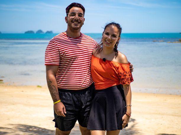 Karim ja Josku löysivät toisensa Temptation Island Suomi -ohjelman kautta.