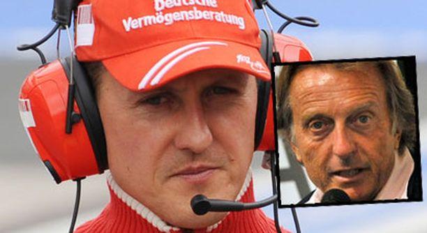 Luca di Montezemolon mielessä oli jo pidemmän aikaa käynyt Schumacherin tuominen takaisin F1-auton rattiin.