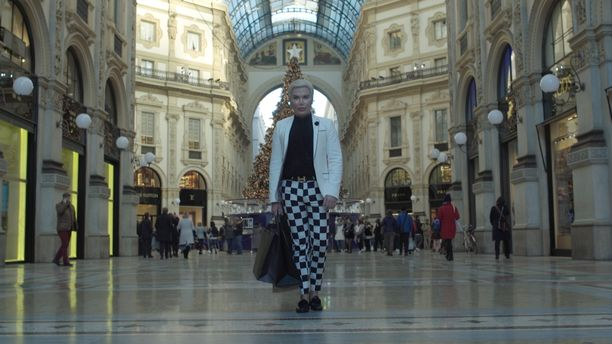 Milanossa Rodrigo Alves teki jouluostoksia.