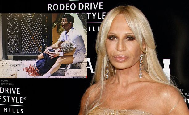 Donatella Versace järkyttyi siitä, että hänen veljensä murha lavastettiin tv-sarjaa varten.