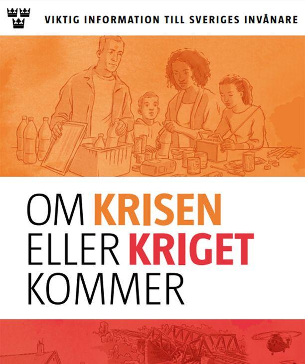 20-sivuinen esite jaetaan Ruotsin jokaiseen kotitalouteen.