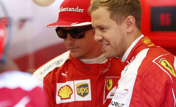 Ferrarilla vallitsee hyvä henki.