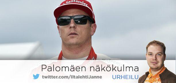 Kimi Räikkönen pilasi Valtteri Bottaksen kisan.