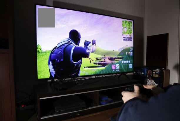 Fortnite-internetpeli on suosittu etenkin nuorten poikien keskuudessa.