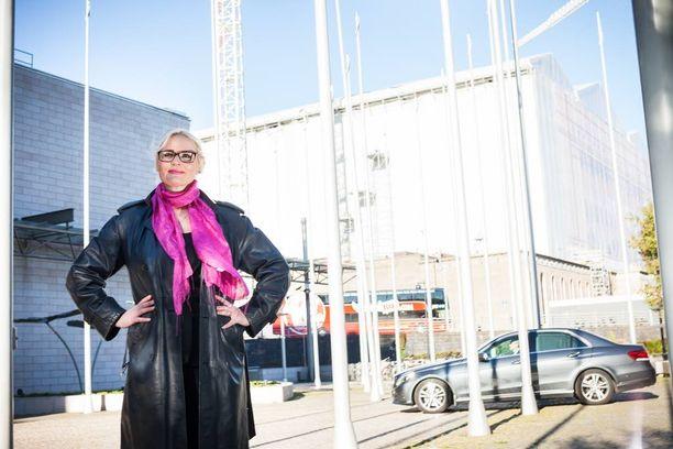 Kansanedustaja Veera Ruoho on ensimmäisen kauden kansanedustaja.