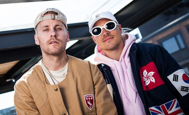 Jare ja VilleGalle panevat viikonloppuna Hartwall Arenalla parastaan.