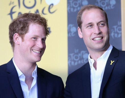 Prinssi Harry, 33, saa tukea isoveljeltään.
