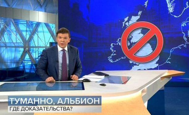 Vremjan juontaja Kirill Kleimenov varoitti Britannian vaaroista.