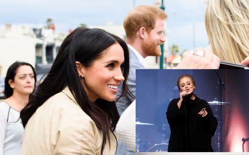 Adele asuu Meghanin ja Harryn naapurissa – käy moikkailemassa ja jakaa vinkkejä