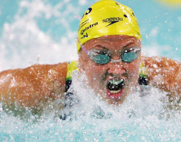 Brooke Hanson on moninkertainen olympiamitalisti.
