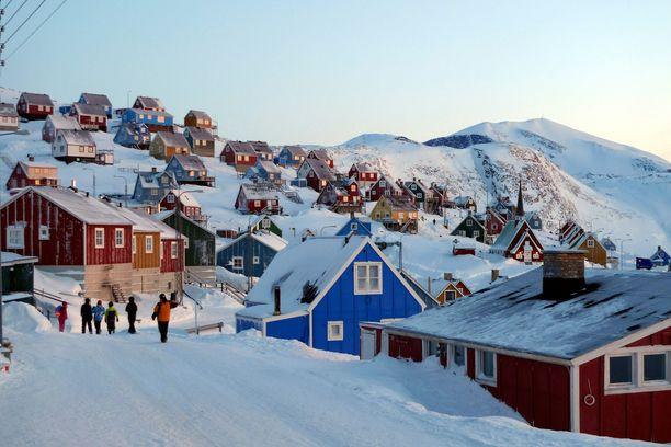 Grönlannin maa-alasta noin 20 prosenttia ei ole jäätikön peitossa.