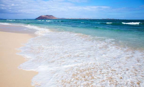 Corralejon ranta Fuerteventurassa.