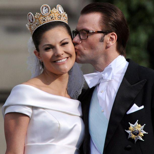 Prinsessa Victoria ja Daniel aloittivat ansaitun salaloman.