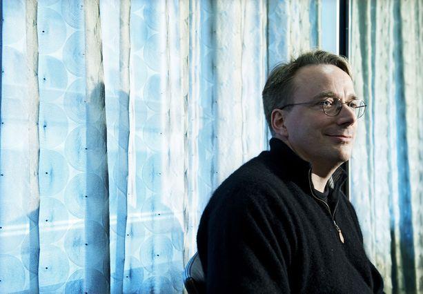 Linus Torvalds (arkistokuvassa) on vaativa johtaja, jonka itsehillinnässä on pahoja puutteita.