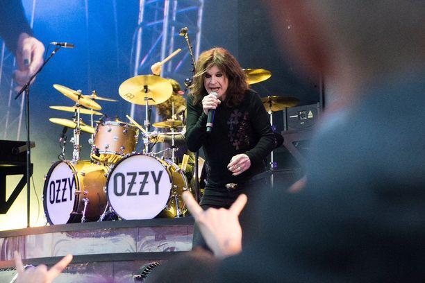 Ozzy Osbourne liikkui lavalla yllättävän ketterästi.