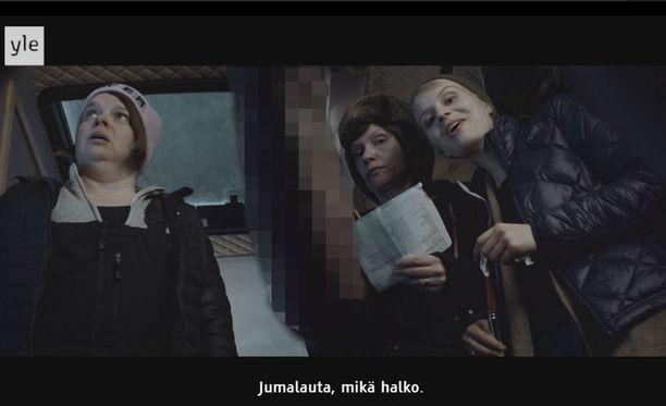 Tällainen kohtaus nähtiin Ylen esittämässä Halko-lyhytelokuvassa.