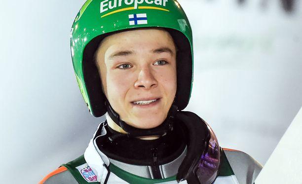 Eero Hirvonen lähtee parantamaan sijoitustaan hiihto-osuudella.