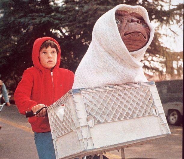 Henry Thomas E.T.-elokuvassa.