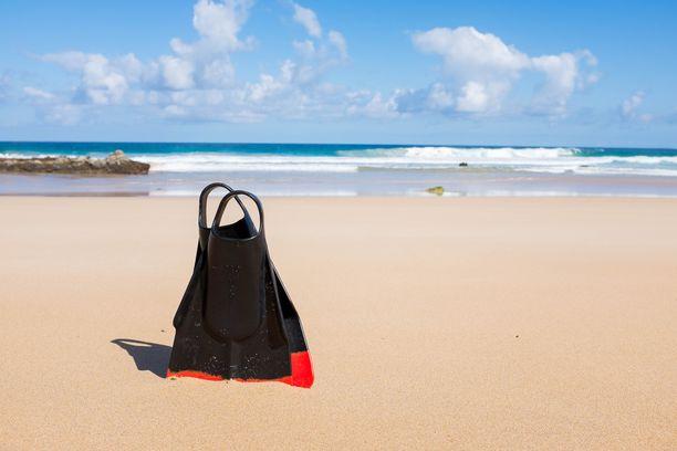 Fuerteventuran rannat tarjoavat oivia vesiurheilumahdollisuuksia.