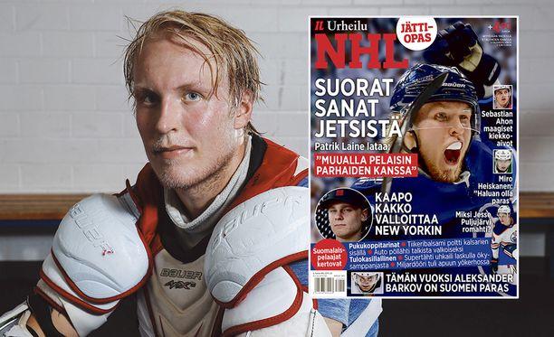Patrik Laineen kohua herättäneen haastattelun voit lukea kokonaisuudessaan Iltalehden NHL-erikoislehdestä.