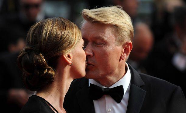 Mika Häkkinen ja Marketa ovat nyt aviopari.